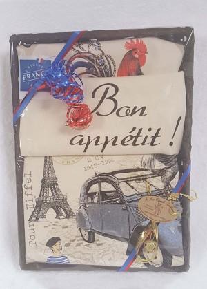 """Coffret  """"J'aime la France"""""""