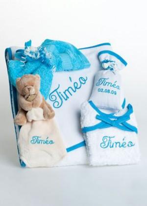 """Coffret naissance """"Timéo"""""""